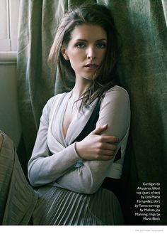 ANNA KENDRICK POSES FOR THE EDIT IN BALLET INSPIRED FASHIONS