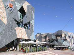 Federation Square w Melbourne