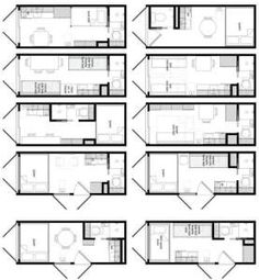 Дом из контейнеров проект 3