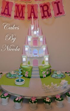 Birthday Cakes - All decorations where made with gumpaste, fondant, gelatin and piping gel.