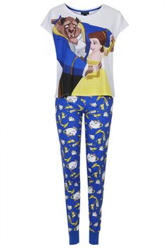 Beauty and the Beast PJ Set - New In This Week - New In - Topshop