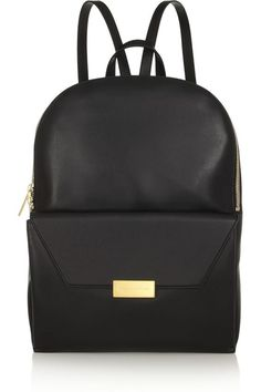 Beckett faux leather backpack