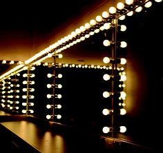 Dressing room at Glen Street Theatre, NSW - this continues to be one of my favourite bits of imagery from the theatre. It helped inspire the musical I worked on recently, and reminds me of one of my favourite musicals Chicago. There is no denying the mystery and hidden glamour of stage lighting.