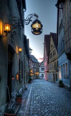 Rothenburg ob der Tauber, Bavaria, Germany (by Paul Sirugo on 500px)