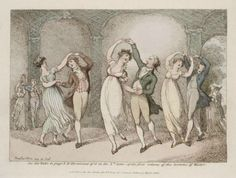 Thomas Rowlandson, Image of the waltz 1806