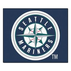 Seattle Mariners 5' X 6' Tailgater Area Rug Floor Mat