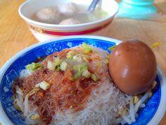 新竹米粉及貢丸湯