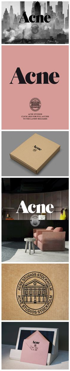 46 Trendy Ideas For Fashion Logo Inspiration Acne Studios Fashion Logo Design, Fashion Branding, New Fashion, Trendy Fashion, Fall Fashion, Fashion Portfolio Layout, Fashion Photography Inspiration, Brand Packaging, Logo Inspiration