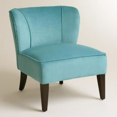 One of my favorite discoveries at WorldMarket.com: Caribbean Blue Quincy Chair
