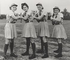 National Baseball Hall of Fame - Dressed to the Nines - Rockford Peaches uniform