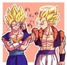 Dragon Ball Gt, Dragon Ball Image, Gogeta E Vegito, Anime Manga, Anime Art, Hand Drawing Reference, Dbz Memes, Cute Pokemon Wallpaper, Dragon Images