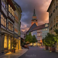 "The small town of Bad Langensalza in Germany.  Feel free to follow me on <a href=""https://www.facebook.com/pages/Alexander-Riek-Photography/588013561261816"">FACEBOOK</a> or to visit my <a href=""http://www.photographichorizons.com"">WEBSITE</a>"