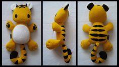 Plush Tiger by melkatsa