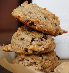 "Banana Chocolate Chip ""Cakies"" #paleo #primal"