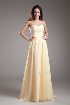 A-Line Sweetheart Chiffon Pleats Prom/Formal Evening Bridesmaid Dresses 02020941