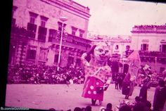 Carnival in Valletta. Photos of Malta taken between 1940-1970.