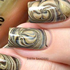 Marble Nail Art Tutorials From Instagram | POPSUGAR Beauty
