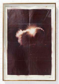 The Fury / The Fury film poster, frame, spray paint / 2011 by Gabriele Beveridge