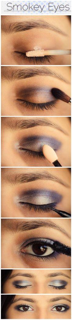 Bege, preto e um delineado pra fechar com estilo a make! #makeup #black #night #beauty