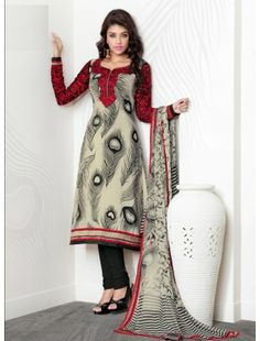 Ravishing Attire To Enhance Your Beauty. Steal The Hearts Away With This Black & Off White Crepe Silk Salwar Kameez. The Jaal Work, Karachi Work, Resham & Stones Work Personifies The Entire Appearance. Designer Salwar Kameez, Indian Salwar Kameez, Salwar Suits, Anarkali Churidar, Embroidery On Clothes, Embroidery Suits, Pakistani Dresses, Indian Dresses, Affordable Suits