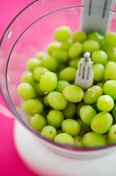 5 Minute Grape Sorbet