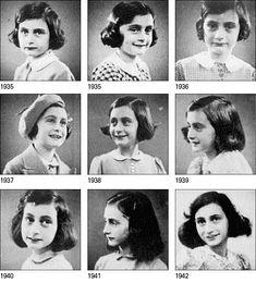 Anne Frank through the years