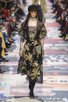 Dior goes.. 60s retro for Fall 2018 ready-to-wear.