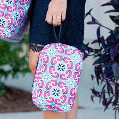 Mia Tile cosmetic bag available from Tickled Pink Gifts.
