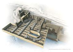 Main Floor Structure -  Frank Lloyd Wright #Historia #Arte #Design @Qomomolo
