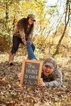 Engagement photo #country #camo