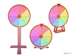 5 Ways to Build a Wheel of Fortune Wheel - wikiHow