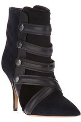 Isabel Marant Tacy Low Boots in Black - Lyst
