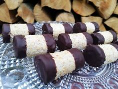 Czech Recipes, Small Desserts, Desert Recipes, Baked Goods, Sweet Tooth, Deserts, Food And Drink, Cookies, Baking