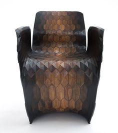 Joris Laarman Lab hexagon chair