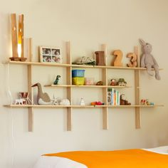 The Simple Grid Locking Shelves from El Dot