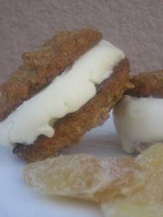 Ginger Gelato Sandwiches