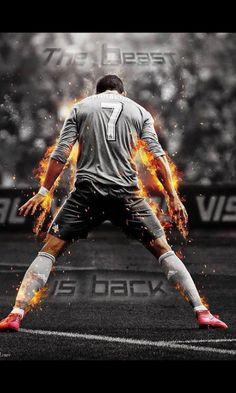 The beast is back.Cristiano Ronaldo