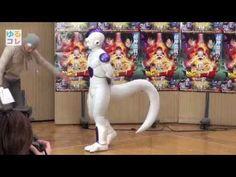 Setsubun day : Momoiro Clover Z & Goku throwing beans on Freeza.