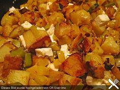 Bratkartoffeln, griechische Art