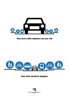 This is spot on! That's why urban planners rule!