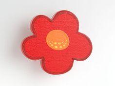 Möbelknopf kinderzimmer ~ Blume türkis möbelgriff möbelknopf für kinderzimmer