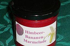 Himbeer - Bananen - Marmelade, ein schmackhaftes Rezept aus der Kategorie Frühstück. Bewertungen: 40. Durchschnitt: Ø 4,5.