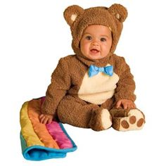 Ahhh! Precious!! Teddy Bear Costume! Someone give me a baby to dress up!