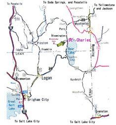 Blm Clover Spring Campground Map Near Dugway Geode Beds