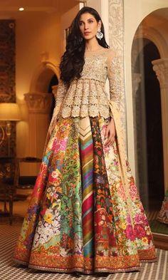 Party Wear Indian Dresses, Pakistani Fashion Party Wear, Indian Gowns Dresses, Indian Bridal Wear, Indian Fashion Dresses, Indian Designer Outfits, Pakistani Dresses, Indian Outfits, Indian Clothes