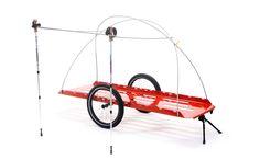 Prototype of camping trailer based on the bike transporter of hinterher.com