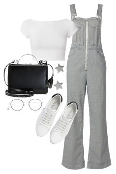 """""""Untitled #23509"""" by florencia95 ❤ liked on Polyvore featuring Helmut Lang, Mark Cross, Prada, Ahlem and Gucci"""