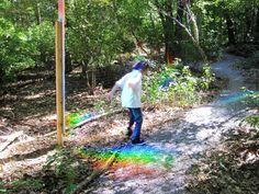 rainbow-making post.