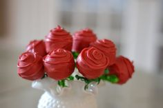 Items similar to Rose Flower Cake Pops on Etsy Red Rose Wedding, Dream Wedding, Flower Cake Pops, Birthday Cake Girls, Birthday Cakes, Sunflower Baby Showers, Beautiful Cakes, Red Roses, Sweets