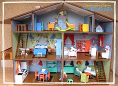 diy doll house..ADD SMALL BOOKS AND BOOK SHELVE,,ACTUALLY READABLE